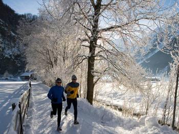 бег зимой полезен для здоровья