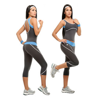 Женская летняя спортивная одежда