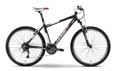 горный велосипед с рамой типа хардтейл