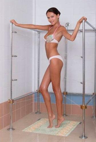 Швейцарский циркулярный душ