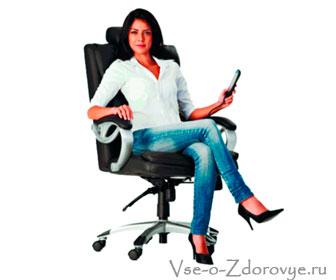 Офисный массажный стул-кресло