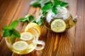 Зеленый чай с лимоном - польза